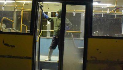 شستوشوی اتوبوسها ابتدا و انتهای خطوط/ ضدعفونی کردن اتوبوسها شبانهروزی شد
