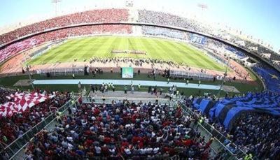 فوتبال لحظه به لحظه با حواشی دربی 91 پایتخت