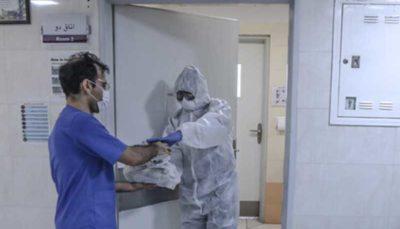 قرنطینه یک بیمار مشکوک به کرونا در سنندج