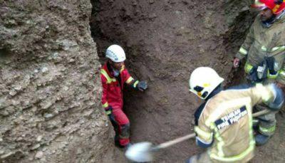 مصدومیت دو کارگر در پی ریزش آوار در محل گودبرداری گودبرداری, ریزش آوار, شهر ری