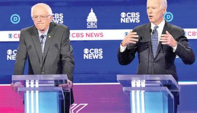 مناظره انتخاباتی دموکراتها؛ همه علیه سندرز