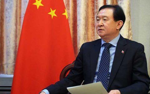 نشست خبری سفیر چین درباره ویروس کرونا