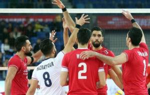 والیبال ایران در مکان هشتم جهان (عکس)