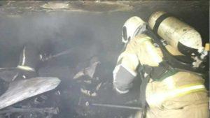 ساختمان مسکونی در میدان ابوذر طعمه حریق شد (عکس)
