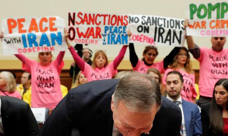 صلح با ایران پشت سر پمپئو (تصاویر)