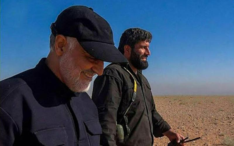 2321 1 سوریه, اصغر پاشاپور, حاج قاسم سلیمانی