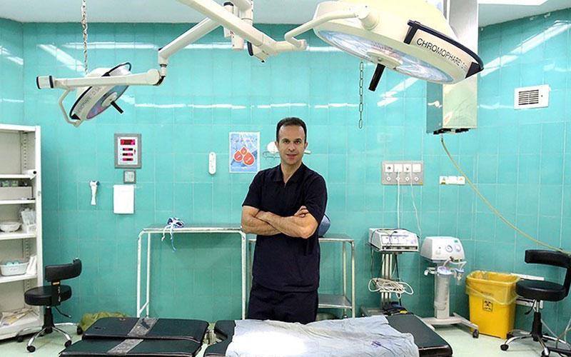 دکتر بیژن حیدری داور دربی پایتخت (تصاویر)