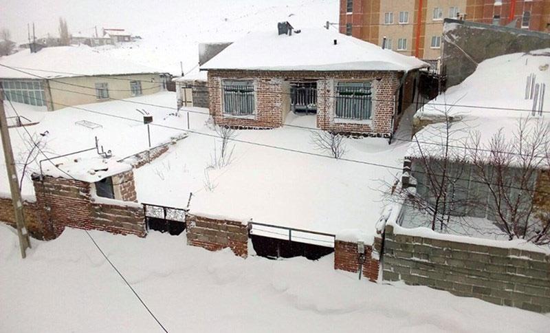 بارش سنگین برف در خلخال (تصاویر)