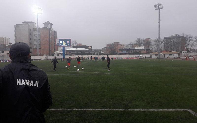 باد و باران هواداران نساجی را خانه نشین کرد(عکس)