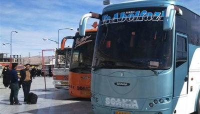 پیشفروش بلیتهای نوروزی ناوگان عمومی مسافربری