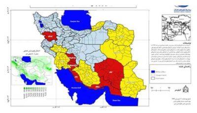 احتمال وقوع سیلاب ناگهانی در 12 استان کشور وجود دارد