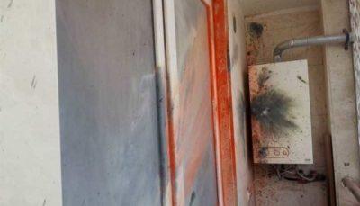 انفجار ترقه در ساختمان مسکونی (تصاویر)