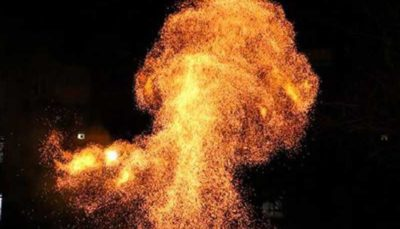 انفجار مواد محترقه 6 مصدوم برجا گذاشت