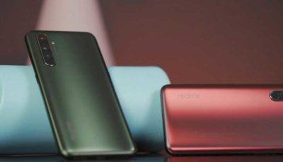 تولید گوشی قدرتمند نسل پنجم توسط ریل می گوشی هوشمند, ریل می, گوشی
