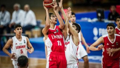 تیم ملی نوجوانان بسکتبال جامجهانی را از دست داد
