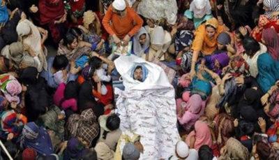 درخواست ۲۰ هزار نفر از دانشجویان و مردم برای جلوگیری از کشتار مسلمانان هند کشتار مسلمانان, دانشجویان, مسلمانان, هند