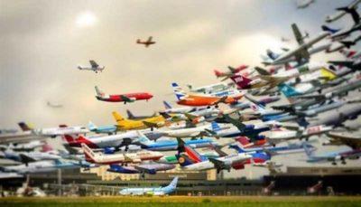 سقوط آزاد قیمت بلیط هواپیما تا ۴۴۵ درصد!