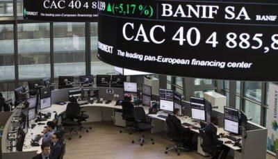 سقوط ۴ درصدی بازار سهام اروپا