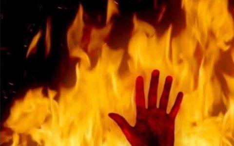 عروس ۱۷ ساله بعد از ازدواج اجباری خودش را به آتش کشید!