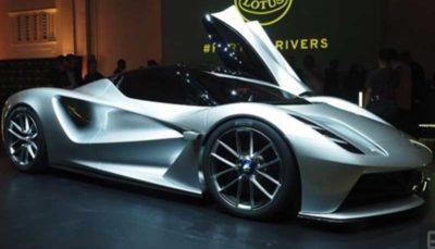 فروش خودروی برقی لوتوس آغاز میشود