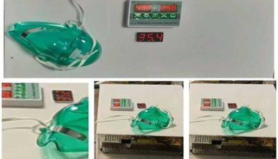 ماسک حرارتی گرمکننده ریه برای مقابله با کرونا تولید شد ماسک حرارتی, ریه, کرونا