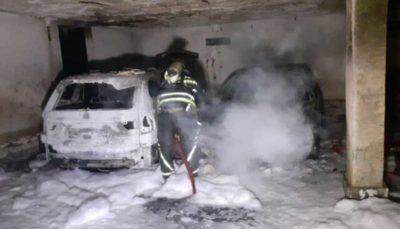 ۴٠ نفر از آتشسوزی در یک مجتمع مسکونی