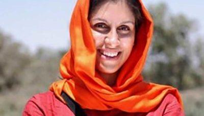 همسر زاغری از تمدید آزادی موقت او خبر داد نازنین زاغری, آزادی موقت, زندانی دوتابیعتی