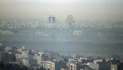 هوای پایتخت برای گروههای حساس ناسالم است آلودگی هوا, کیفیت هوا, هوای تهران