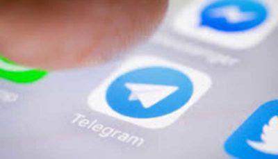 کرونا به تلگرام آمد کرونا, تلگرام