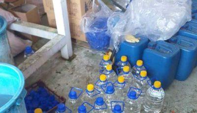 کشف ۸۵۰۰ لیتر الکل طبی احتکار شده در کامرانیه جنوبی