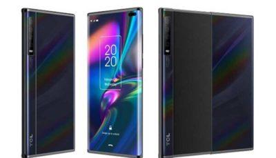 گوشی جدید تی سی ال با نمایشگر کشویی تولید می شود