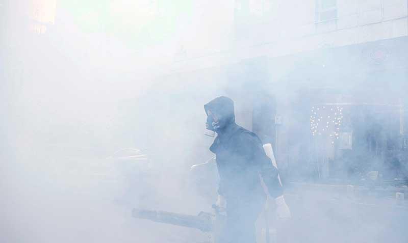 1585664 سازمان آتش نشانی, ضد عفونی, میدان ولیعصر