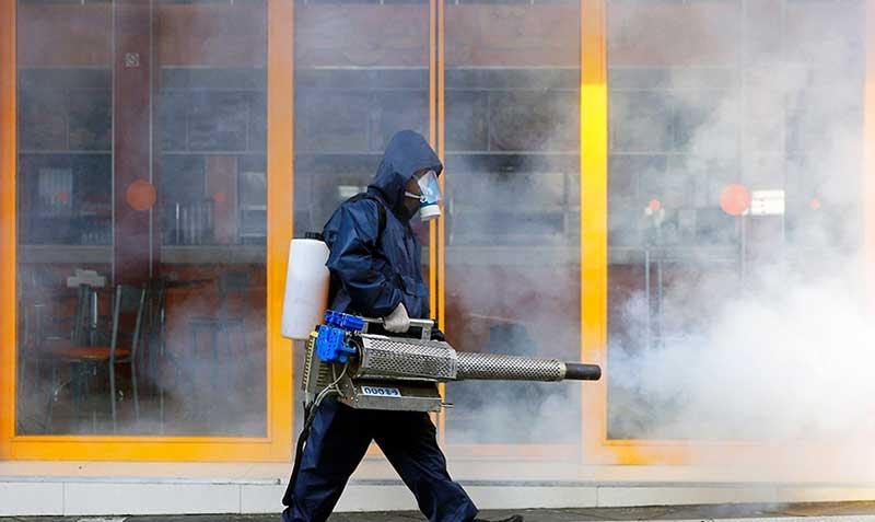51515 سازمان آتش نشانی, ضد عفونی, میدان ولیعصر
