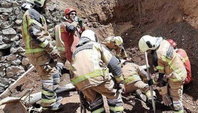 آوار مرگ بر سر کارگر جوان ( تصاویر )