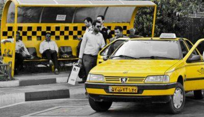ابلاغیه جدید به تاکسیها: فقط دو مسافر در صندلی عقب سوار شوند