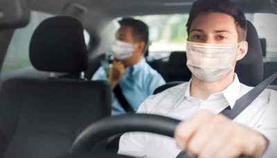 از ماسک برای رانندگان اسنپ الزامی شد