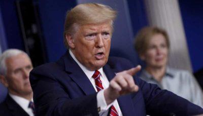 امتناع ترامپ از پاسخ به سوال خبرنگار سیانان