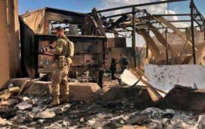 اهدای نشان ویژه پنتاگون به مجروحان مغزی حملات موشکی ایران به عینالاسد