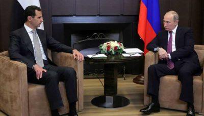 سیگنال مبهم روسی به بشار اسد