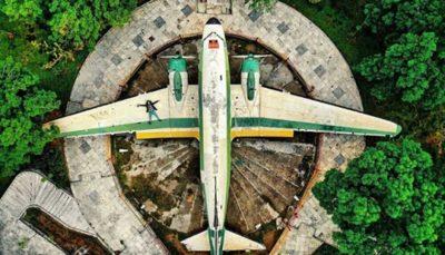 هواپیمای آمریکایی در تهران ( عکس )