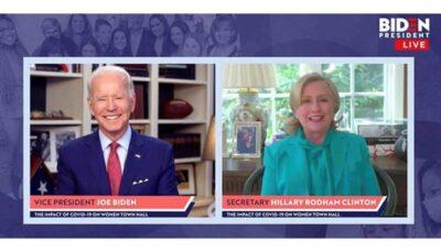 هیلاری کلینتون هم رسما از بایدن در انتخابات آمریکا حمایت کرد