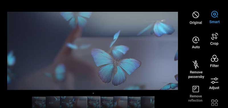 هوش مصنوعی در دوربین Huawei P40 Pro(تصاویر)