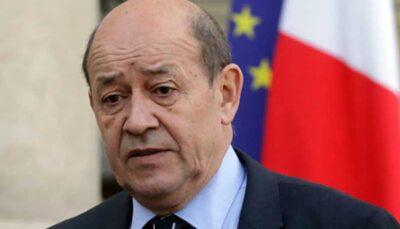 اظهارات مداخله جویانه وزیر خارجه فرانسه درباره یک محکوم امنیتی