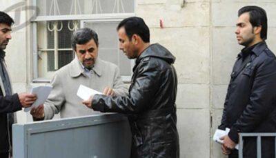 اقدام عجیب احمدی نژاد در محله نارمک تهران!