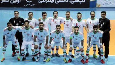 درخواست رسمی ایران برای تعویق مسابقات قهرمانی فوتسال آسیا ۲۰۲۰