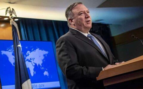 درخواست صدها قانونگذار آمریکایی از پمپئو برای تمدید تحریمهای تسلیحاتی ایران تحریمهای تسلیحاتی ایران, پمپئو, قانونگذار آمریکایی