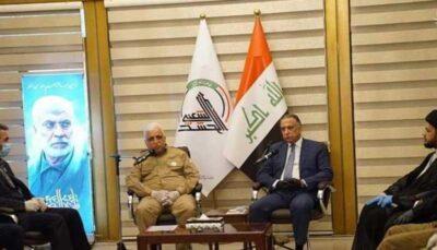 سنتشکنی نخست وزیر عراق الحشد الشعبی, عراق, مصطفی الکاظمی