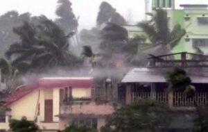 طوفان امفان هند و بنگلادش را درنوردید /تصاویر