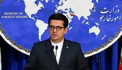 واکنش تهران به تحریم های جدید آمریکا آمریکا, سید عباس موسوی, تحریم های جدید, تهران