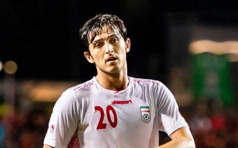 پسر طلایی فوتبال ایران میتواند به اورتون برود رسانههای اروپا, سردار آزمون, مهاجم ایرانی زنیت